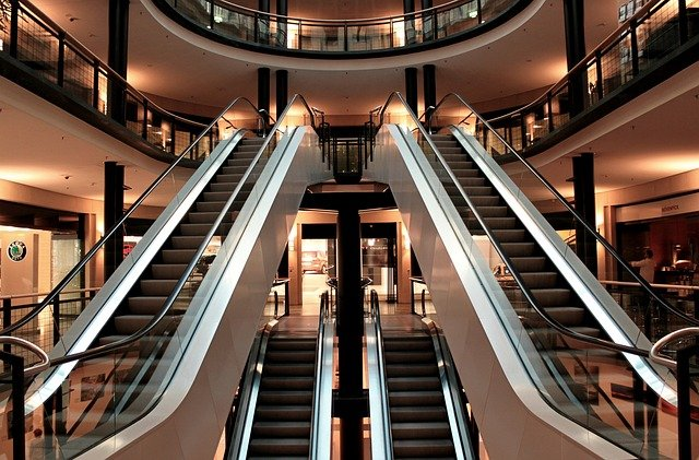sell shopping or retail centers